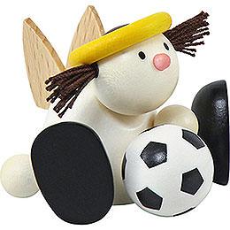 Engel Lotte mit Fußball - 7 cm