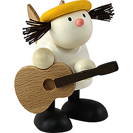 Engel Lotte mit Gitarre - 7 cm