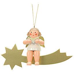 Engel auf Sternschnuppe - 32,0 cm