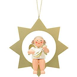 Engel im Stern - 26,0 cm