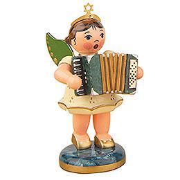 Engel mit Akkordeon - 6,5 cm
