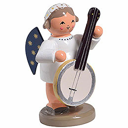 Engel mit Banjo - 5 cm