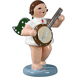 Engel mit Banjo - 6,5 cm
