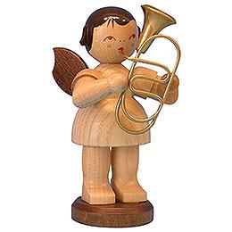 Engel mit Bariton - natur - stehend - 9,5 cm