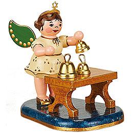 Engel mit Glockenspiel - 6,5 cm
