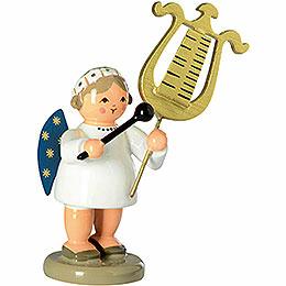 Engel mit Glockenspiellyra - 5 cm