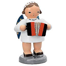 Engel mit Harmonika - 5 cm