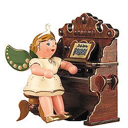 Engel mit Harmonium - 6,5 cm