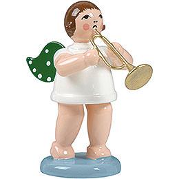 Engel mit Jazztrompete - 6,5 cm