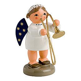 Engel mit Posaune - 5 cm