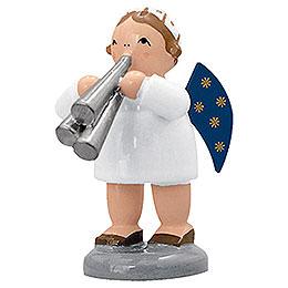 Engel mit Schalmei - 5 cm