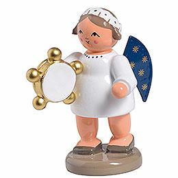 Engel mit Tamburin - 5 cm