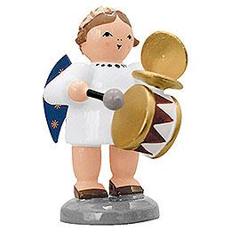 Engel mit Trommel und Schellen - 5 cm