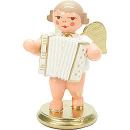 Engel weiß/gold mit Ziehharmonika - 6,0 cm
