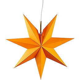 Erzgebirgischer Fensterstern orange - 41 cm