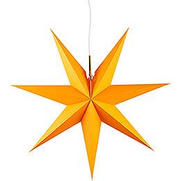 Erzgebirgischer Fensterstern orange - 53 cm