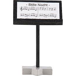 Faltenlangrockengel Dirigentenpult, farbig - 4 cm