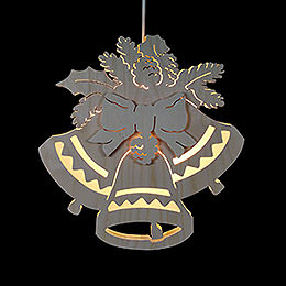 Fensterbild Drei Glocken - Durchmesser 30,5 cm