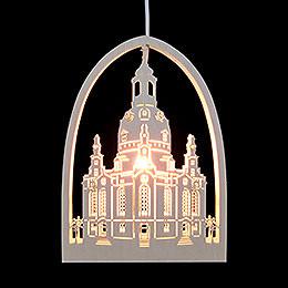 Fensterbild Frauenkirche - 21,5x29,5 cm