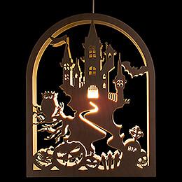 Fensterbild Halloween - 27 cm