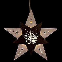 Fensterbild Stern