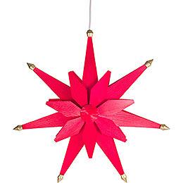 Fensterbild Weihnachtsstern Rot - 40 cm