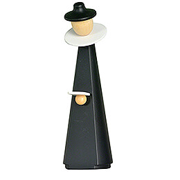Figurine Caroler with sheet of music - 11 cm / 4.3 inch