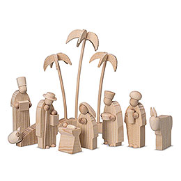 Figurines for Pyramid LUMA - Nativity - 15 cm / 5.9 inch
