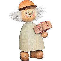 Finn mit Geschenk - 9 cm