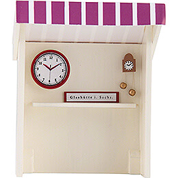 Flachshaarkinder Marktbude Uhrmacher - 8 cm