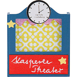 Flax Haired Children Puppet Theater - 5 cm / 2 inch