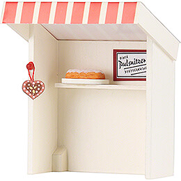 Flax Haired Children Stall Gingerbread Shop - 8 cm / 3.1 inch