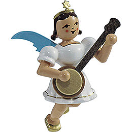 Floating Angel Colored, Banjo - 6,6 cm / 2.6 inch