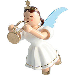 Floating Angel Colored, Trumpet - 6,6 cm / 2.6 inch