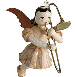 Floating Angel Slide Trombone, Natural - 6,6 cm / 2.6 inch