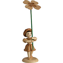 Flower Child Clover, Natural - 12 cm / 4.7 inch
