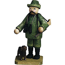 Forester with Dog - 7 cm / 2.8 inch