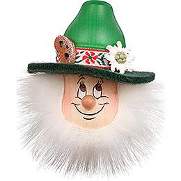 Fridge Magnet - Gnome Bavarian - 9 cm / 3.5 inch