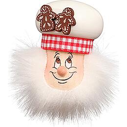 Fridge Magnet - Gnome Sugar Baker - 9 cm / 3.5 inch