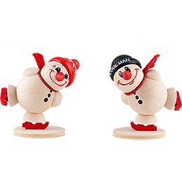 Fritz & Freddy Ice Skating - 2 pcs. - 5 cm / 2 inch