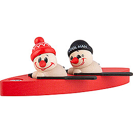 Fritz & Freddy in Boat - 4 cm / 1.6 inch