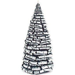 Frosted Tree - Green-White - 18 cm / 7.1 inch