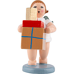 Geschenkeengel mit Paketen - 6,5 cm