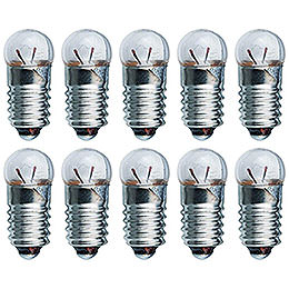 Glühlampe - Sockel E10 - 4,8V/0,3A