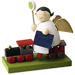 Guardian Angel on Train - 3,5 cm / 1.3 inch