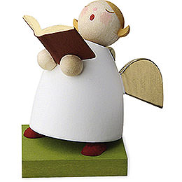 Guardian Angel with Book Singing - 3,5 cm / 1.3 inch