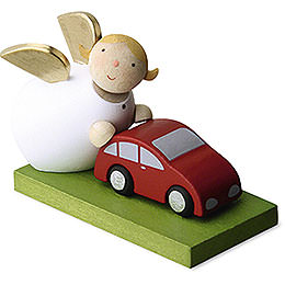 Guardian Angel with Car - 3,5 cm / 1.3 inch