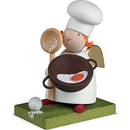 Guardian Angel with Cooking Spoon - 3,5 cm / 1.3 inch