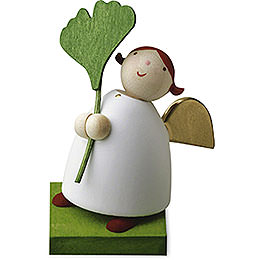 Guardian Angel with Gingko Leaf - 3,5 cm / 1.3 inch