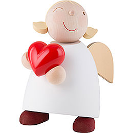 Guardian Angel with Heart - 16 cm / 6.3 inch